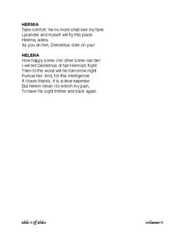 A Midsummer Night's Dream (Edited Text)