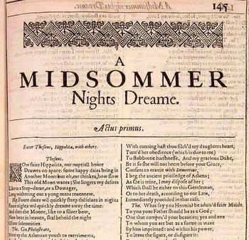 A Midsummer Night's Dream Final Test