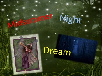 A Midsummer Night's Dream Intro