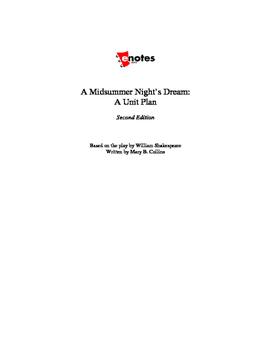 A Midsummer Night's Dream Lesson Plan