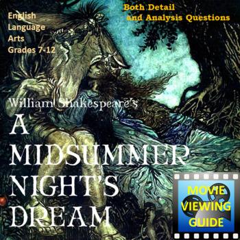 A Midsummer Night's Dream Movie Guide