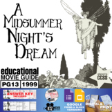 A Midsummer Night's Dream Movie Guide | Questions | Worksheet (PG13 - 1999)