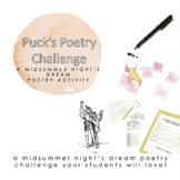 A Midsummer Night's Dream: Puck's Poetry Challenge