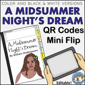 A Midsummer Night's Dream QR Mini Flip