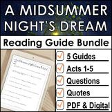 A Midsummer Night's Dream Reading Guide Bundle