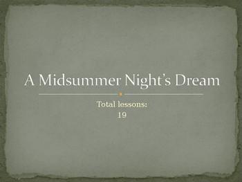 A Midsummer Night's Dream Scheme of Work