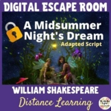 A Midsummer Night's Dream Digital Escape Room & Adapted Script