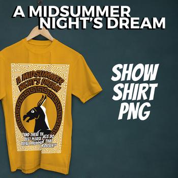 A Midsummer Night's Dream Show Shirt Graphic