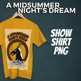 A Midsummer Night's Dream Show Shirt Graphic