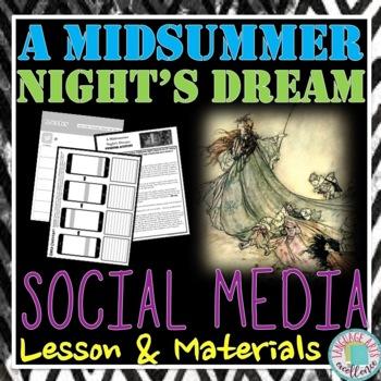 A Midsummer Night's Dream Social Media Materials
