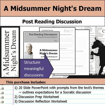 A Midsummer Night's Dream - Socratic Method - Post Reading Discussions