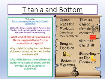 A Midsummer Night's Dream - Titania and Bottom
