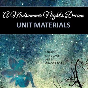 A Midsummer Night's Dream: Unit Materials