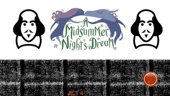 A Midsummer Night's Dream by William Shakespeare: Act Four