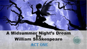 A Midsummer Night's Dream by William Shakespeare: Act One
