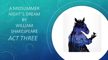 A Midsummer Night's Dream by William Shakespeare: Act Three