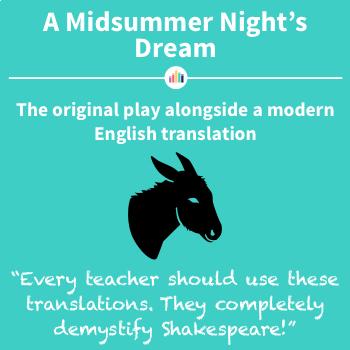 A Midsummer Night's Dream: the Original Play Alongside a Modern Translation
