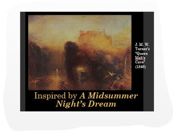 A Midsummer Night's Dream Common Core-Based Analysis Activity