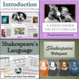 A Midsummer Night's Dream: Complete Unit (Discounted Bundle)