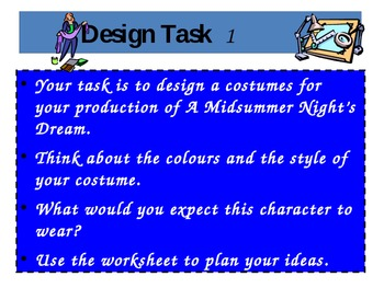 A Midsummer Night's Dream - Costume and Set
