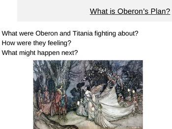 A Midsummer Nights Dream - Oberon's Plan