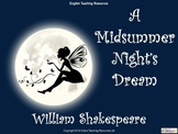 A Midsummer Night's Dream - Unit of Work