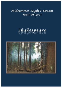 A Midsummer Night's Dream Playbill Project