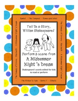 A Midsummer Night's Dream Script