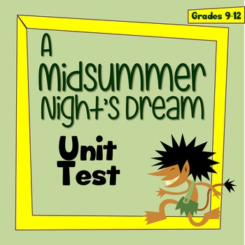 A Midsummer Night's Dream TEST