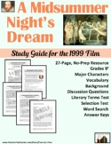 A Midsummer Night's Dream: Study Guide for the Film (27 P., Ans. Key Inc., $15)