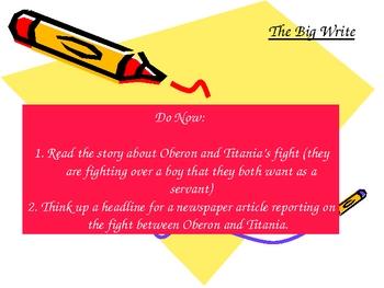 A Midsummer Night's Dream - Titania and Oberon's Fight