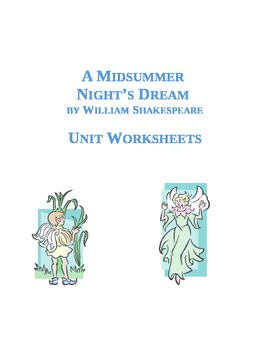 A Midsummer Night's Dream Whole Unit