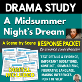 A Midsummer Night's Dream: Response Packet - Common Core Aligned
