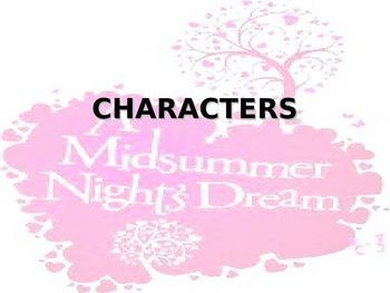 """""""A Midsummer Night's Dream"""" power point"""