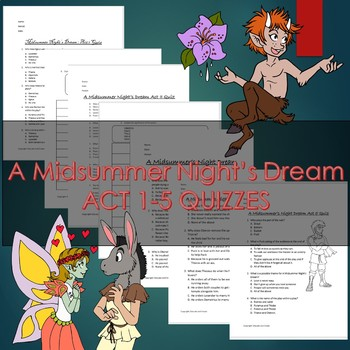 A Midsummer's Night Dream Quizzes