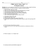 A Mighty Long Way Chapter 2 Pages 37 – 43 Text Dependent Q