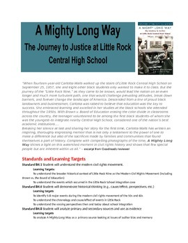 Civil Rights: A Mighty Long Way - Little Rock Nine