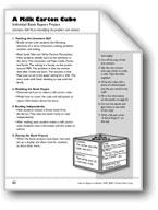 A Milk Carton Cube (Book Project)