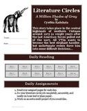 A Million Shades of Gray Literature Circle Reading Activity