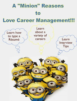 "A ""Minion"" Reasons to Love Career Management Poster"