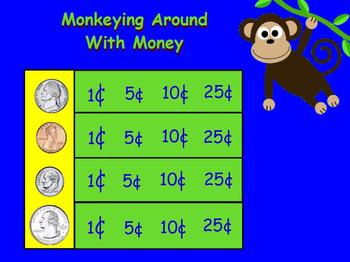 A Minute for Money for Promethean Board