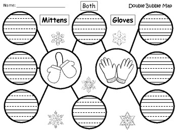 A+ Mittens & Gloves:  Double Bubble Maps