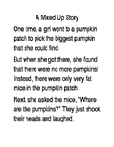 A Mixed Up Story Sequencing Activity