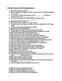 A Modest Proposal Guided Reading Questions
