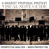 A Modest Proposal Protest Visual Note Guide