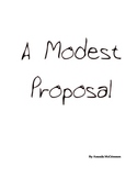 A Modest Proposal- Using Humor and Satire