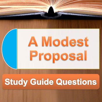 A Modest Proposal Teaching Resources Teachers Pay Teachers