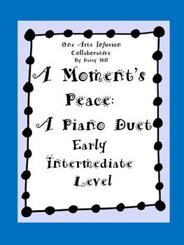 A Moment's Peace: Piano Duet Sheet Music for Early Interme