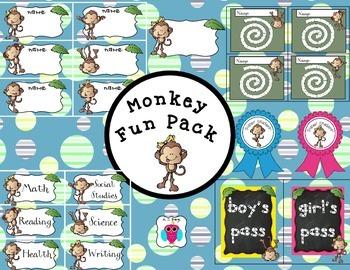 A Monkey Fun Pack