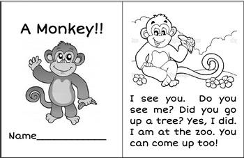 A Monkey (Sing-Along Reader)